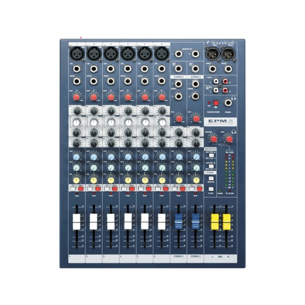 Soundcraft EPM 6 PA mixer